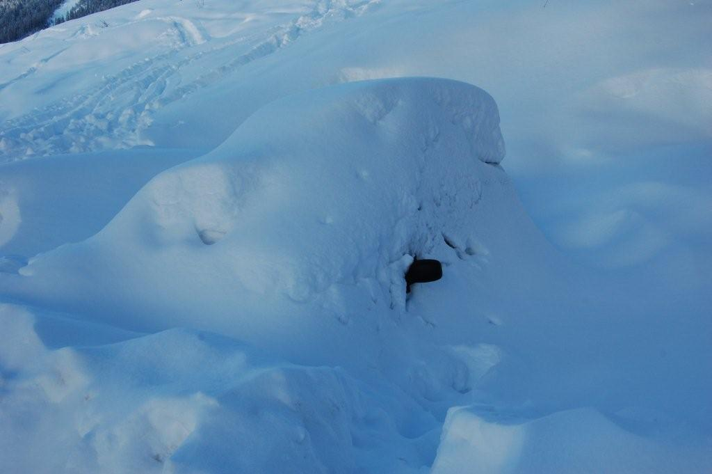 Eh oui c`est bien un express sous la neige le 25 janv 09